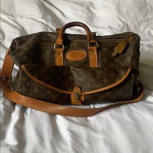 Louis Vuitton rare duffel bag